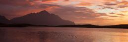 Panorama Sonnenaufgang