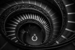 Treppe im Vatikan