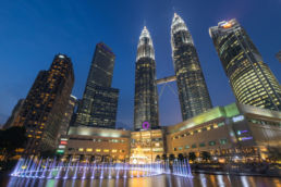Perspektive Petronas Tower