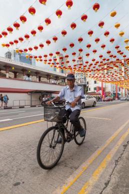 Fahrrad in Chinatown